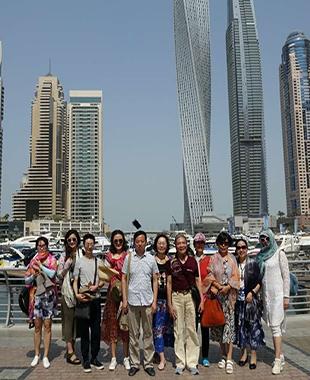 艺术之旅——李景老师迪拜写生记