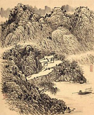 艺融南北派 深厚润泽美 ——李景山水画艺术